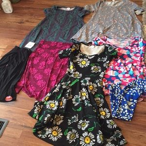 6 item LLR Lot XXS/XS/S